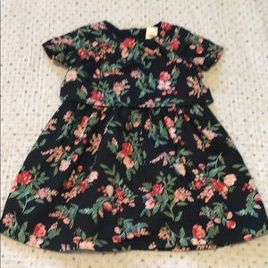 Carters baby girl's floral dress 12M